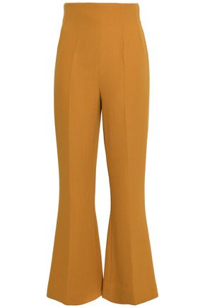 EMILIA WICKSTEAD Crepe flared pants