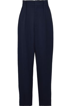 ROLAND MOURET Twill wide-leg pants
