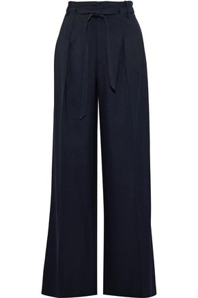 ROLAND MOURET Woodcourt twill wide-leg pants