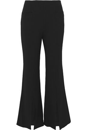 ROLAND MOURET Danesfield stretch-crepe flared pants