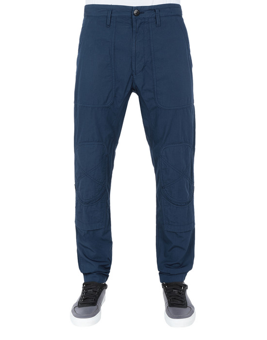STONE ISLAND Trousers 31007 STRUCTURED COTTON