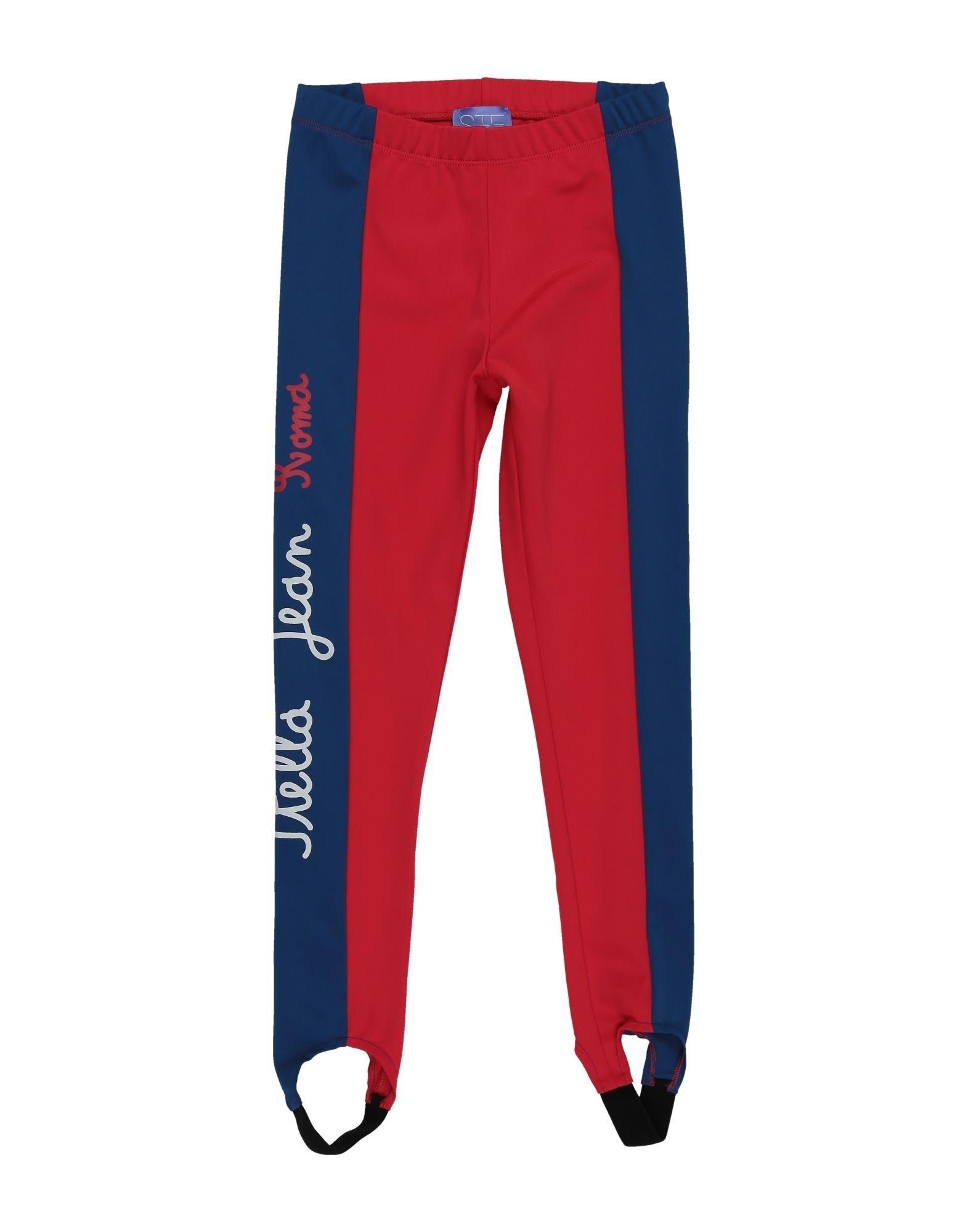 Stella Jean Kids' Leggings In Red