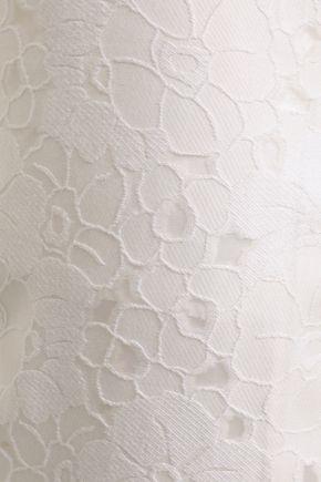 MICHAEL MICHAEL KORS Fil coupé cotton-blend straight-leg pants