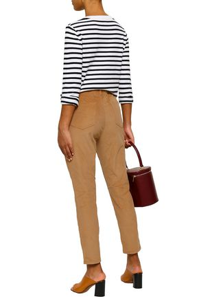 MICHAEL MICHAEL KORS Cotton-blend corduroy slim-leg pants