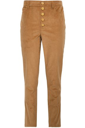 d43e0ef6927e MICHAEL MICHAEL KORS Cotton-blend corduroy slim-leg pants