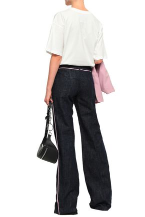 MOSCHINO Mid-rise flared jeans