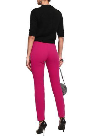 MOSCHINO Wool-blend slim-leg pants