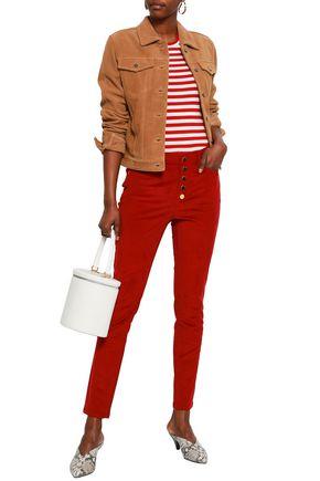 3855c8a5c9647f MICHAEL MICHAEL KORS Cotton-blend corduroy slim-leg pants