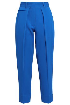 CEDRIC CHARLIER Crepe tapered pants