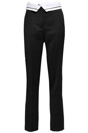 CEDRIC CHARLIER Twill tapered pants