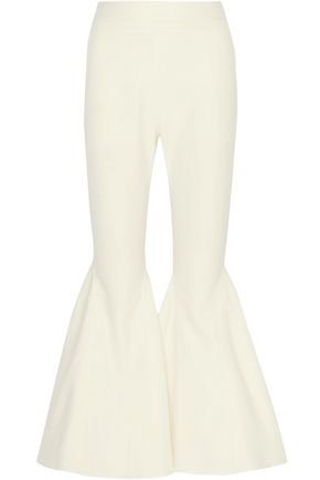 BEAUFILLE Zeke cotton-blend twill flared pants
