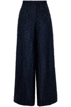 ROLAND MOURET Harrison fil coupé wide-leg pants