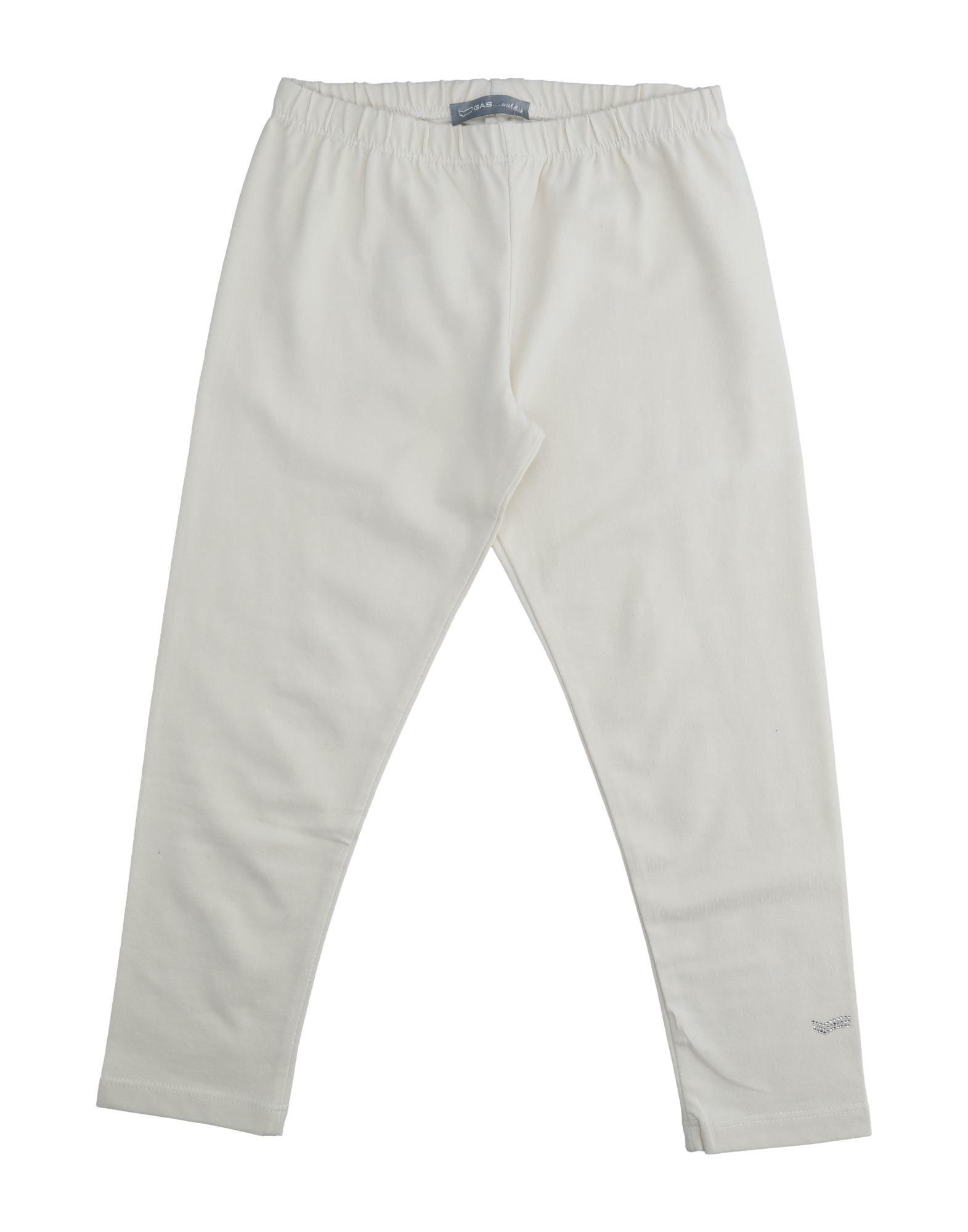 Gas Kids' Leggings In White