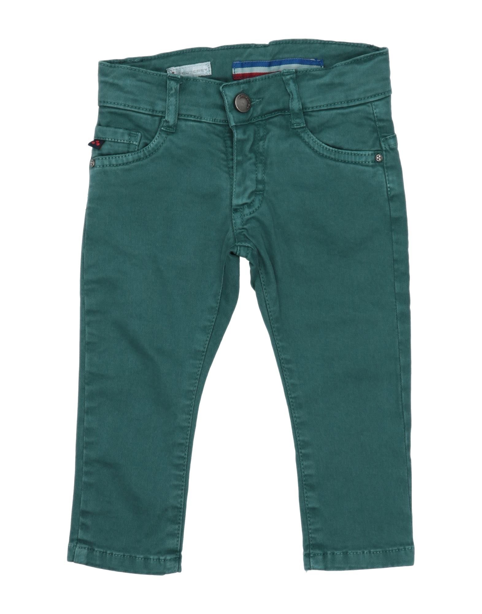 Peuterey Kids' Casual Pants In Green