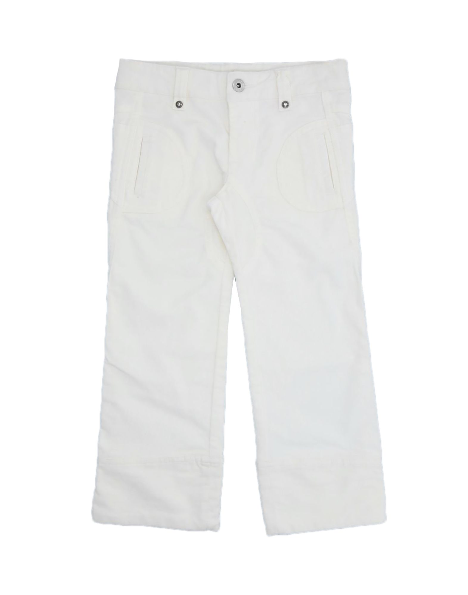 Brums Kids' Casual Pants In White