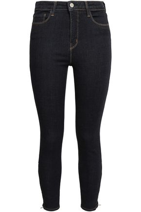 L'AGENCE High-rise skinny jeans