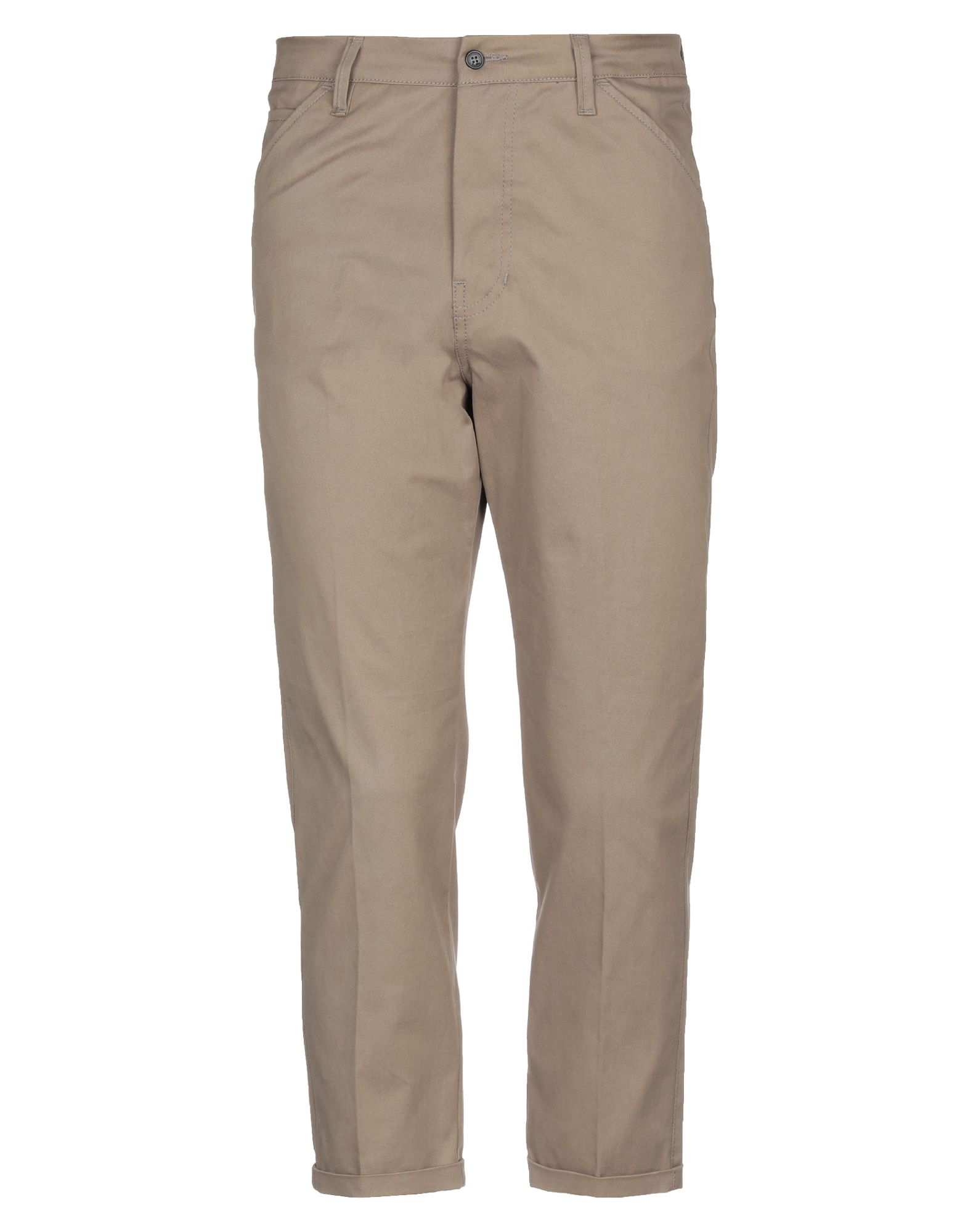 《セール開催中》BE ABLE メンズ パンツ ブラウン 33 コットン 100%