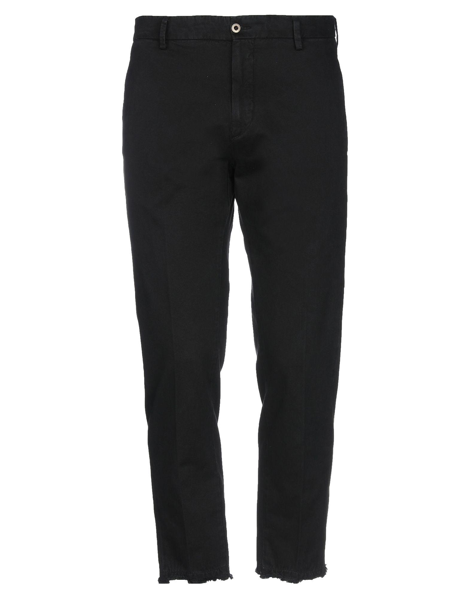 《セール開催中》BE ABLE メンズ パンツ ブラック 32 コットン 100%