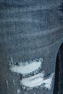 BALMAIN Distressed high-rise skinny jeans