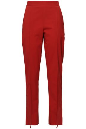 ROSIE ASSOULIN Wool-blend straight-leg pants