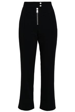 CINQ À SEPT Crepe kick-flare pants