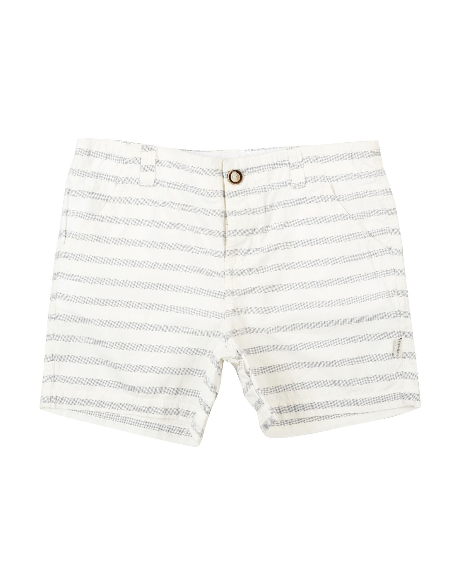 Sticky Fudge Kids' Bermudas In White
