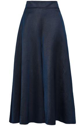 TEMPERLEY LONDON Matilde cropped wool-blend wide-leg pants