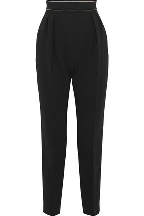 MAX MARA Vettura cropped cady tapered pants