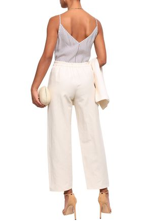 VANESSA BRUNO Galien cotton-blend crepe straight-leg pants