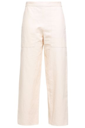 VANESSA BRUNO Galien cotton-blend crepe straight-leg pants