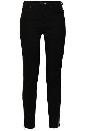 McQ Alexander McQueen High-rise slim-leg jeans