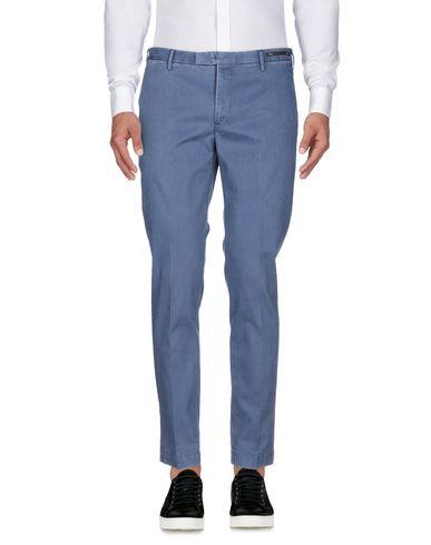 Фото 2 - Повседневные брюки от PT01 грифельно-синего цвета
