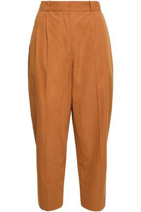 VANESSA BRUNO Iakiri cotton-blend twill tapered pants