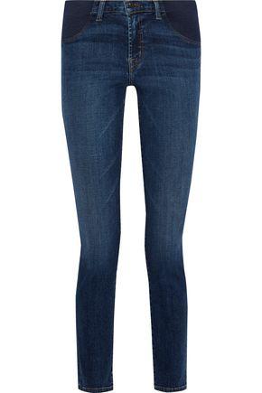 J BRAND Mama J mid-rise skinny maternity jeans