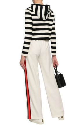 MILLY Crepe straight-leg pants