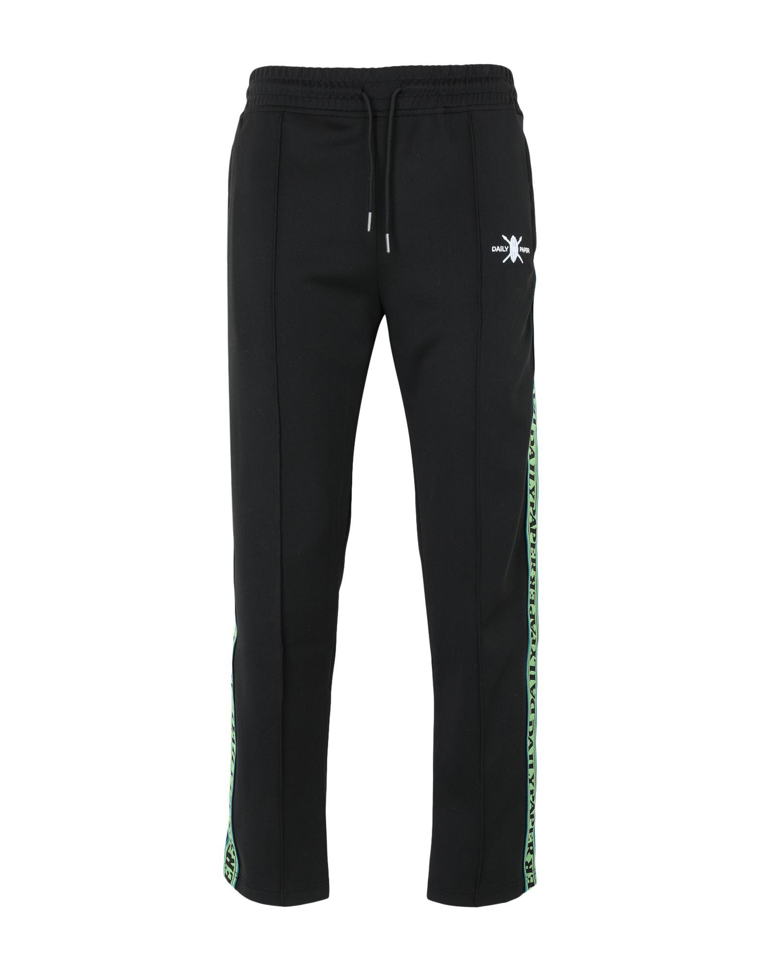 《期間限定セール開催中!》DAILY PAPER メンズ パンツ ブラック S ポリエステル 95% / ポリウレタン 5% LIBA