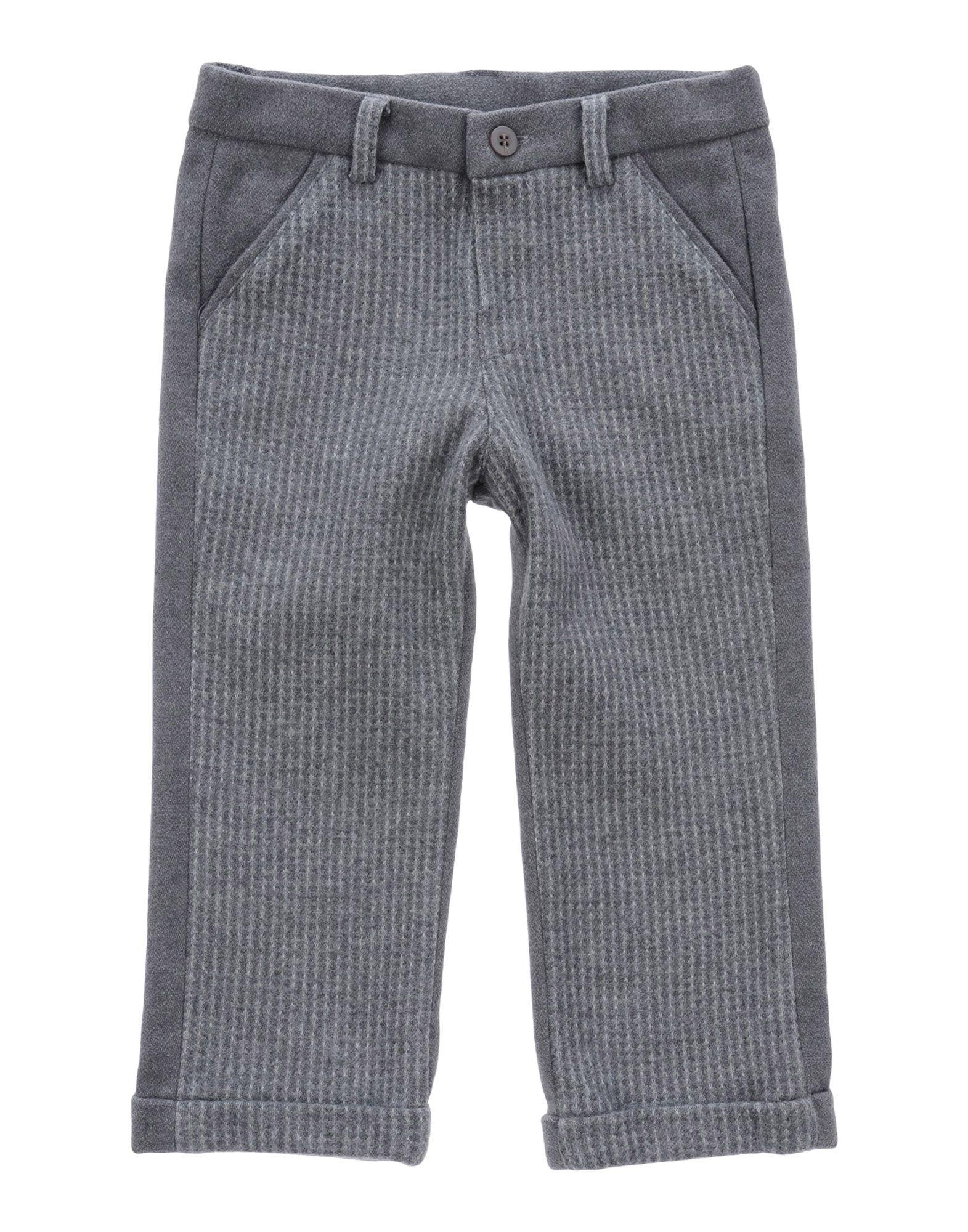 Kid Space Kids' Casual Pants In Gray