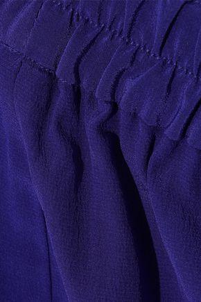 VANESSA BRUNO Galien cropped silk wide-leg pants