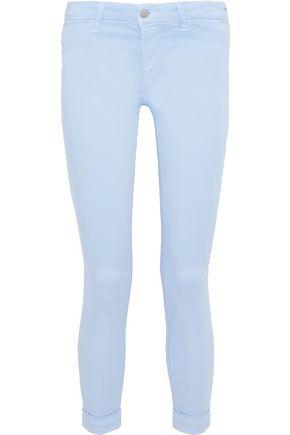 J BRAND Cotton-blend skinny pants