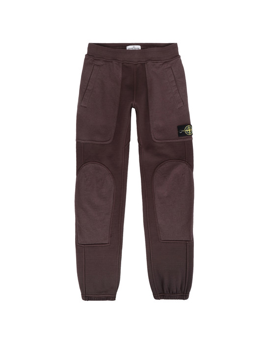 STONE ISLAND JUNIOR Pantaloni in felpa 62643