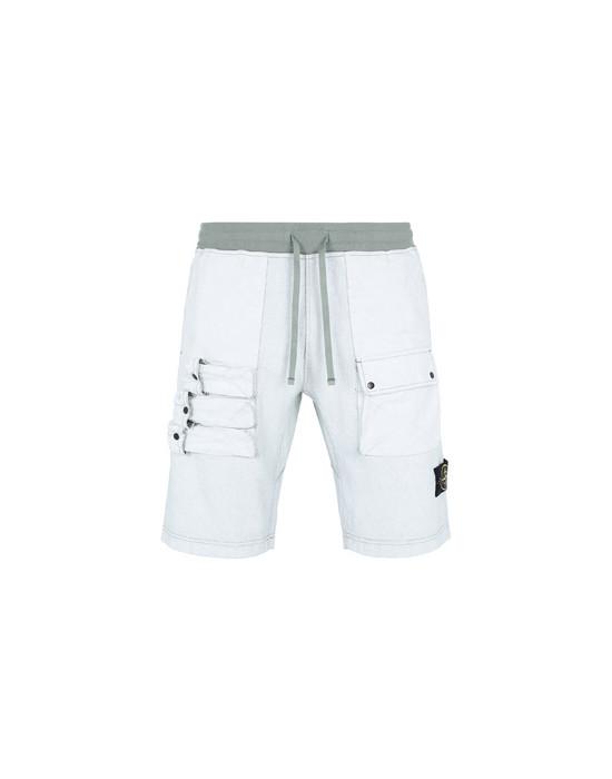 抓绒百慕大短裤 63665 FELPA PLACCATA  STONE ISLAND - 0