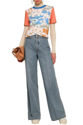 ACNE STUDIOS Faded high-rise flared jeans
