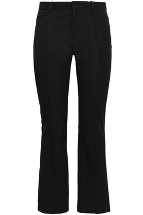 JOSEPH Stretch-gabardine bootcut pants