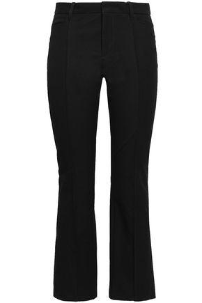 JOSEPH Zed cropped twill bootcut pants