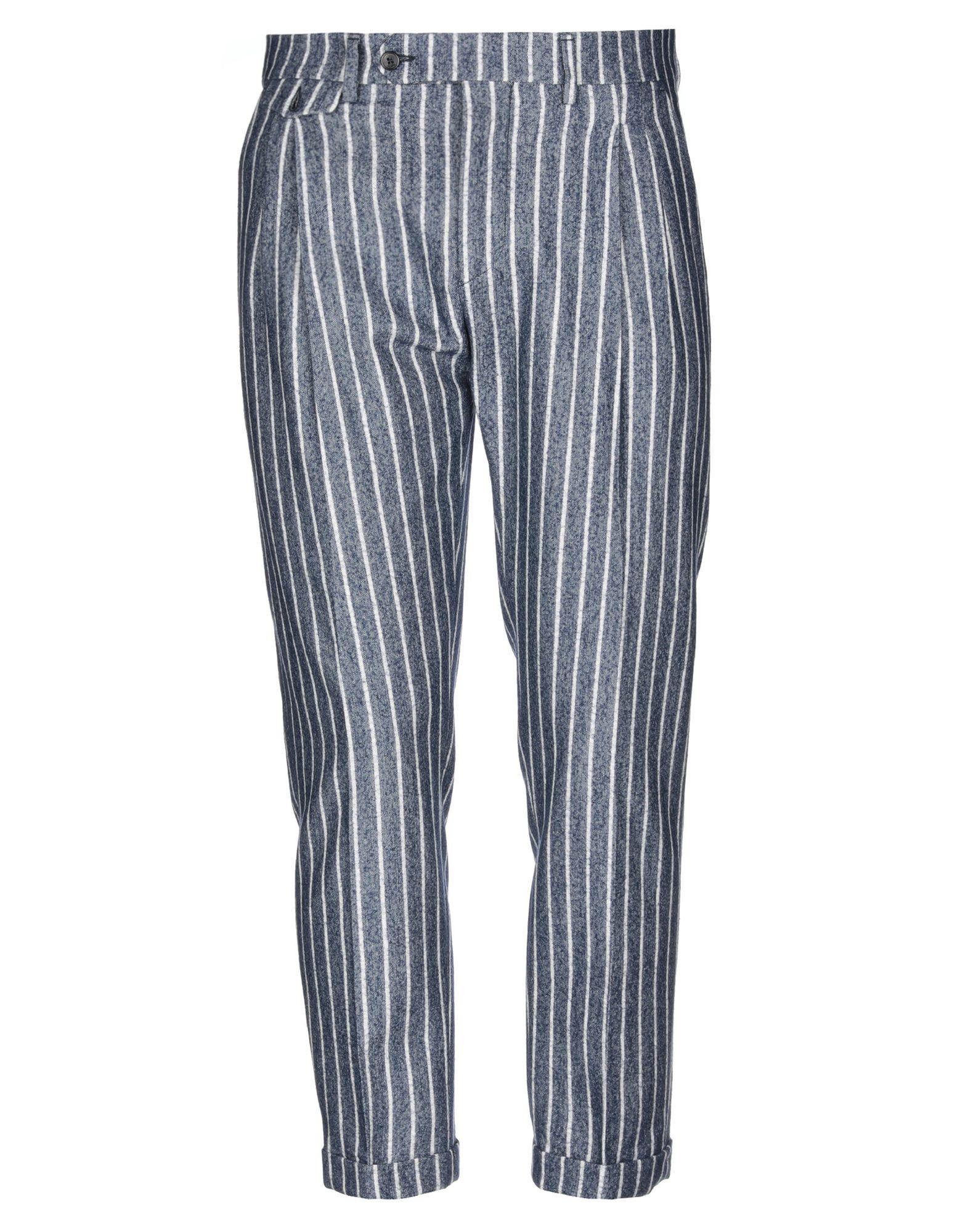 《セール開催中》BE ABLE メンズ パンツ ブルー 32 バージンウール 100%