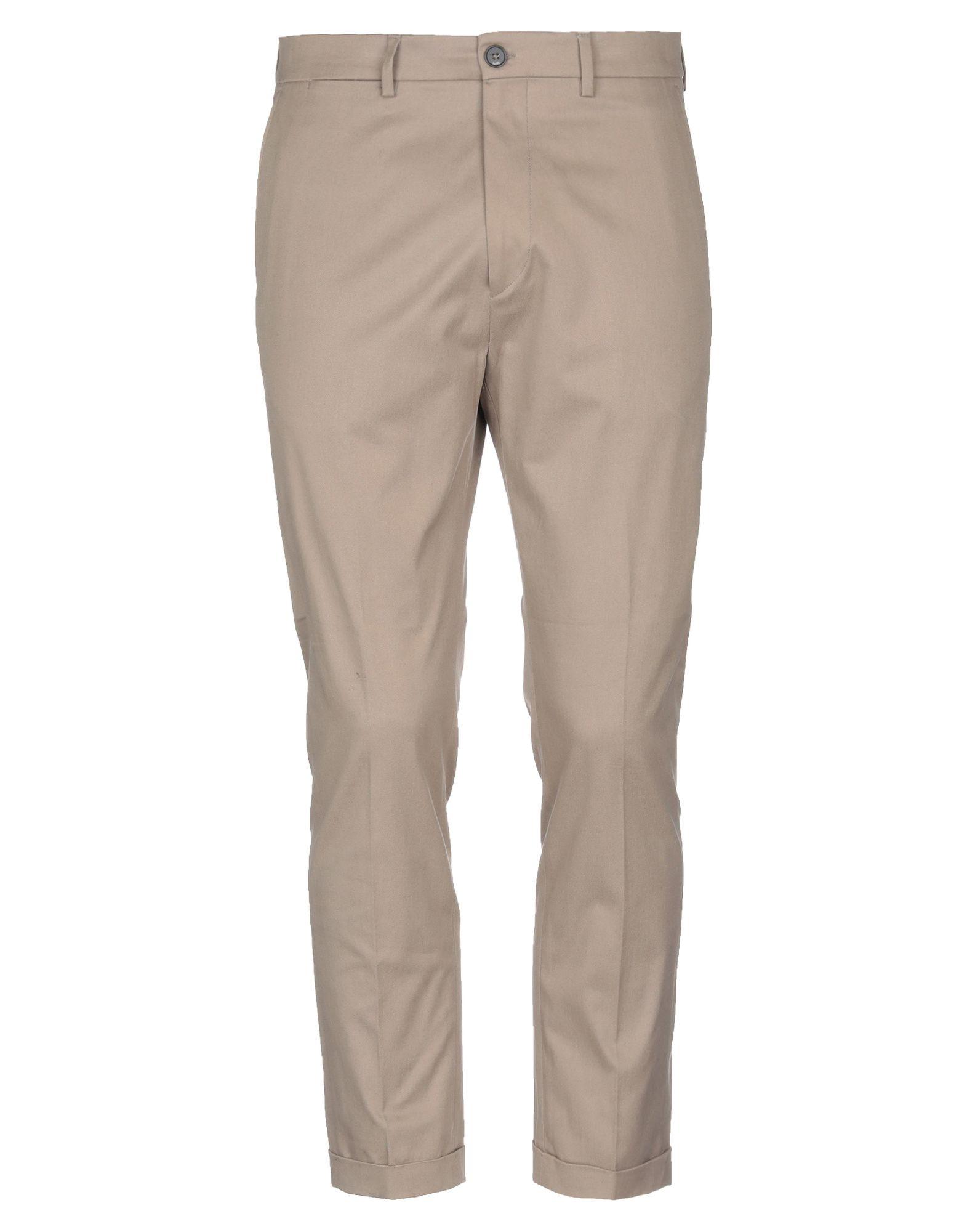 《セール開催中》BE ABLE メンズ パンツ カーキ 32 コットン 100%