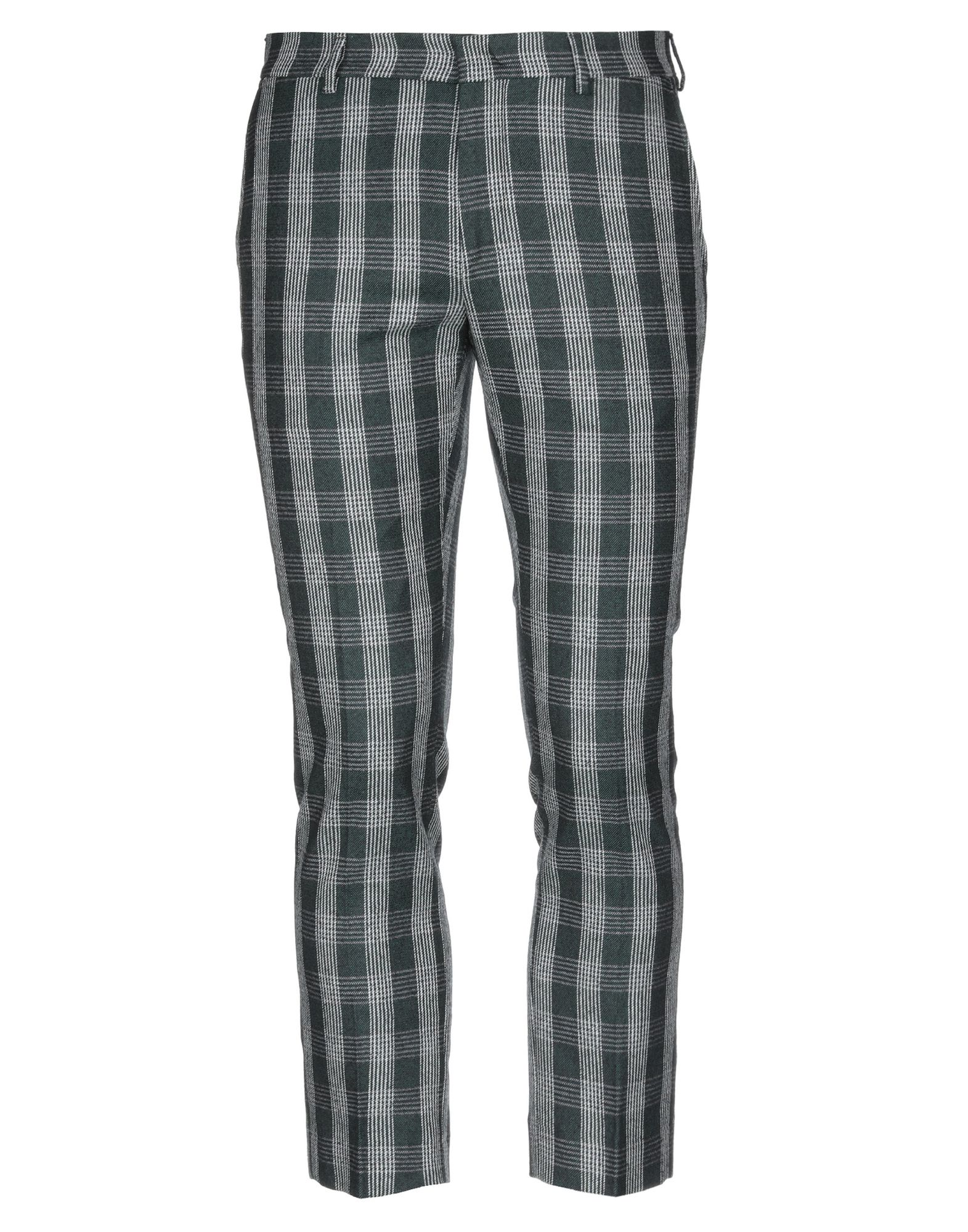 《セール開催中》BE ABLE メンズ パンツ ダークグリーン 32 ウール 100%