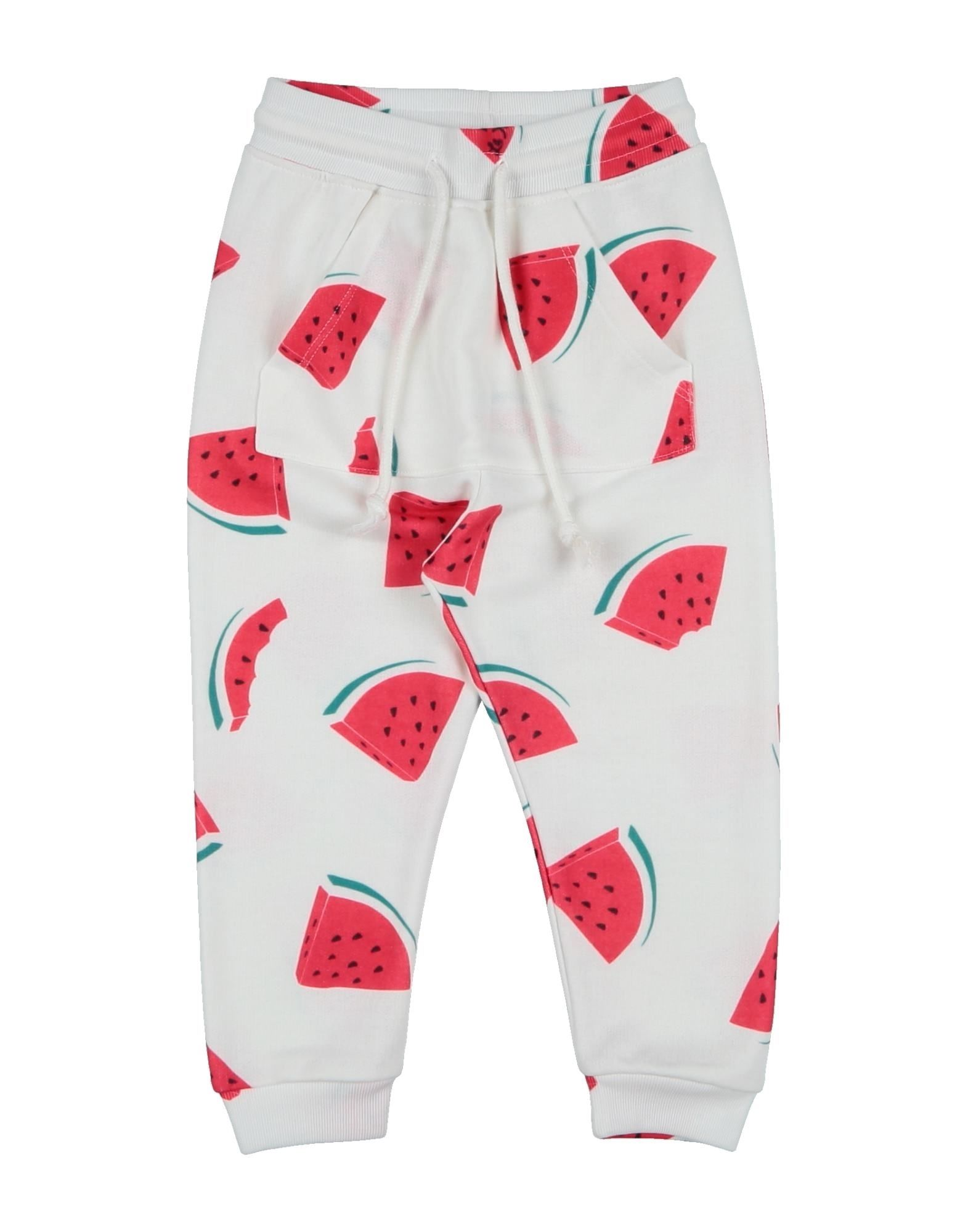 La Kasa Dei Kolori Kids' Casual Pants In White