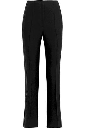 JASON WU Satin-trimmed cady slim-leg pants