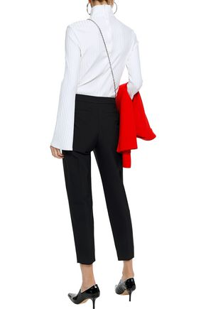 PROENZA SCHOULER Carrot cropped twill tapered pants